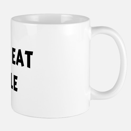 Men eat Pineapple Mug