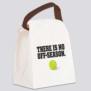There is no off season - tennis Canvas Lunch Bag