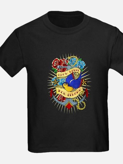 Old School Tattoo Anchor T-Shirt