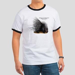 African Crested Porcupine Ringer T
