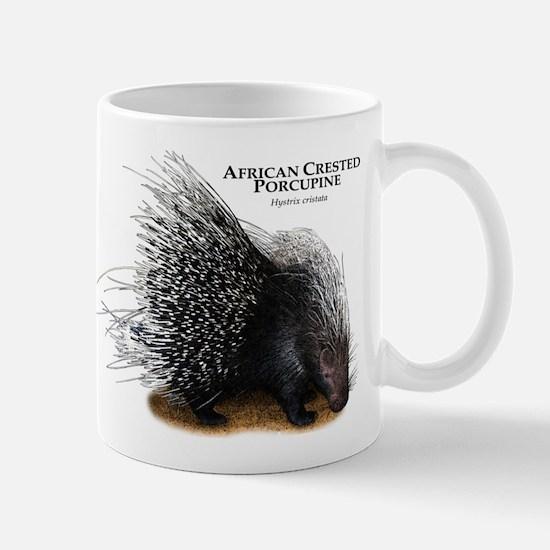 African Crested Porcupine Mug