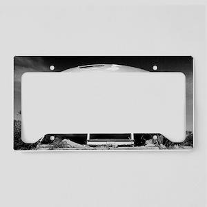 UFO License Plate Holder