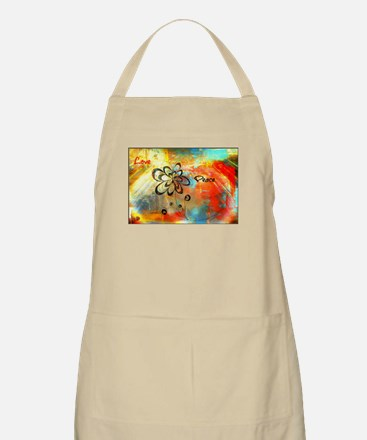Abstract Peace Apron