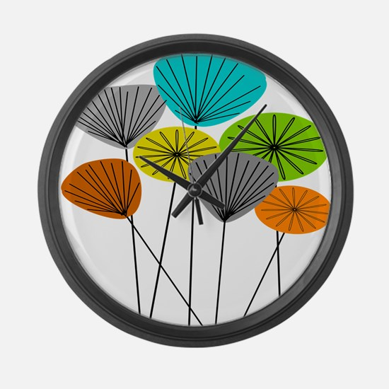 Seed Pods LARGE Large Wall Clock