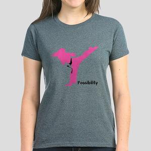 Martial Artist Women's Dark T-Shirt