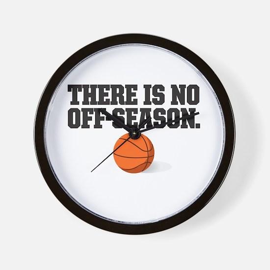 There is no off season - basketball Wall Clock