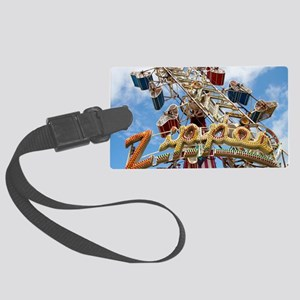 The Zipper Large Luggage Tag