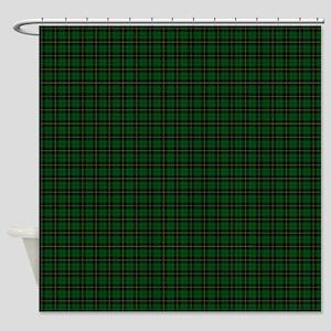 Wallace Hunting Tartan Plaid Shower Curtain