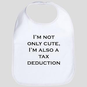 Cute Tax Deduction Bib