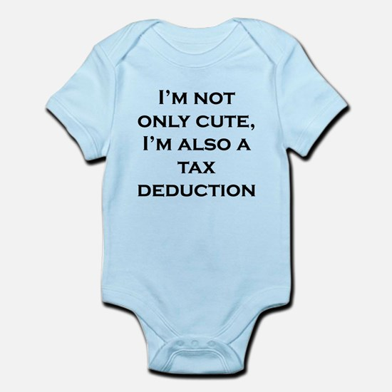 Cute Tax Deduction Body Suit