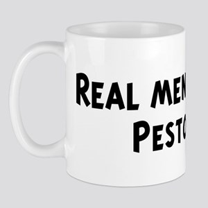 Men eat Pesto Mug