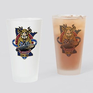USS Minnesota SSN-783 Drinking Glass