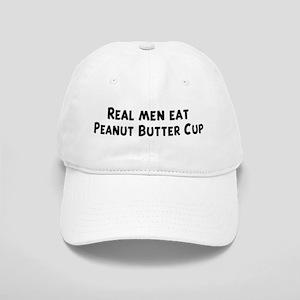 Men eat Peanut Butter Cup Cap