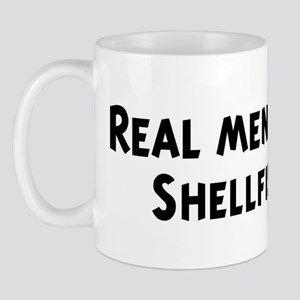 Men eat Shellfish Mug