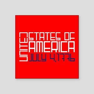 Block USA Sticker