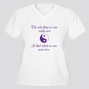The only thing Plus Size T-Shirt