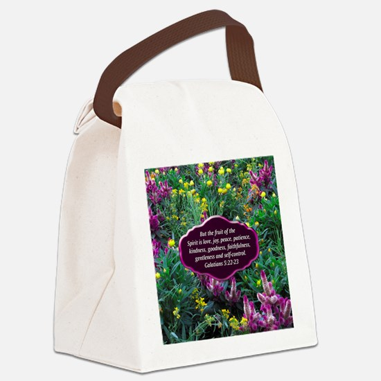 GALATIANS 5 Canvas Lunch Bag