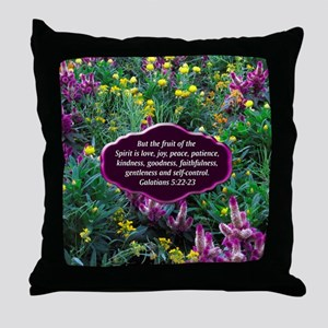 GALATIANS 5 Throw Pillow