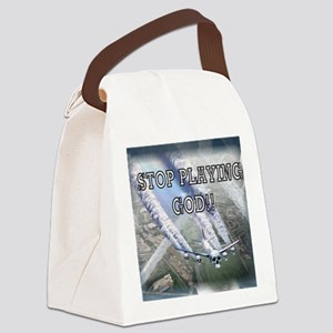 Chemtrails Canvas Lunch Bag