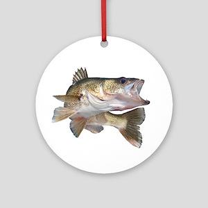 walleye Ornament (Round)