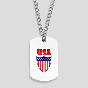 USA Crest Dog Tags