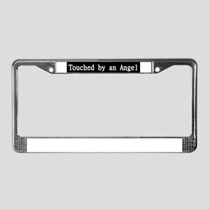 Touched by an Angle TV Show License Plate Frame