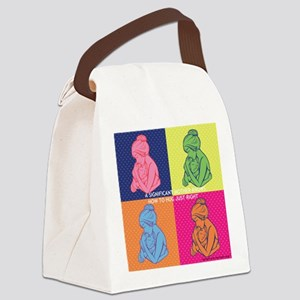 Significant Mother hug Canvas Lunch Bag