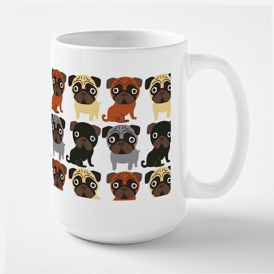 Just Pugs! Large Mug