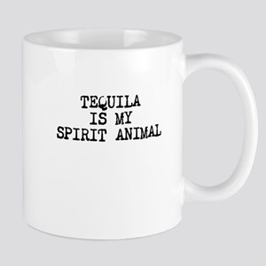 Tequila is my spirit animal Mugs