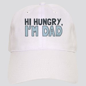 Hi Hungry Im Dad Baseball Cap
