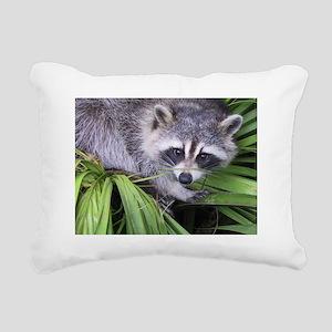 Masked Bandit Rectangular Canvas Pillow