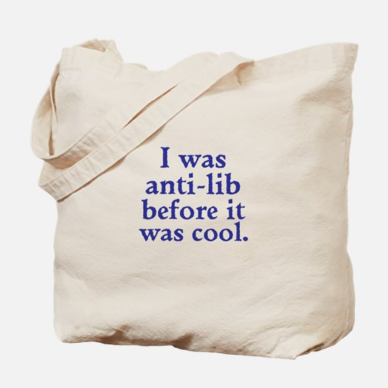 Cool Anti-Lib Tote Bag