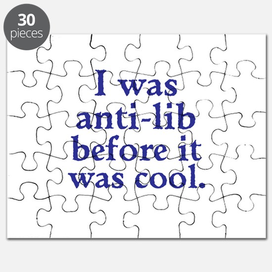 Cool Anti-Lib Puzzle