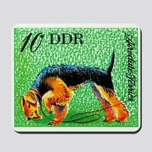 1976 Germany Airedale Terrier Postage Stamp Mousep