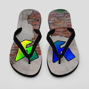GRAFFITI #1 Y Flip Flops