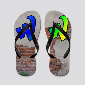 GRAFFITI #1 W Flip Flops