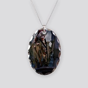 Boatswain's Mate Pirate Necklace Oval Charm