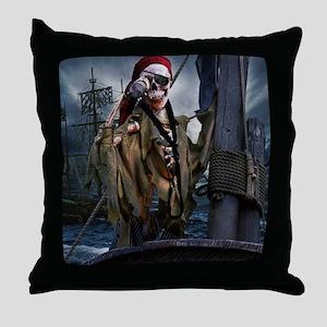 Boatswain's Mate Pirate Throw Pillow