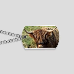 Highland Cow Dog Tags