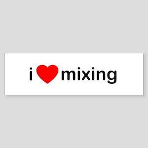 I Heart Mixing Bumper Sticker