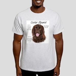 Cocker Spaniel (brown) Light T-Shirt