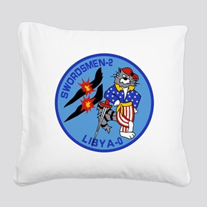 3-vf32logo Square Canvas Pillow