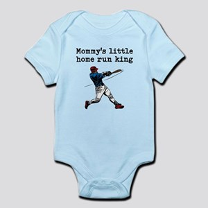 Mommys Little Home Run King Body Suit