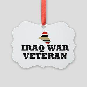 Iraq War Veteran Ornament