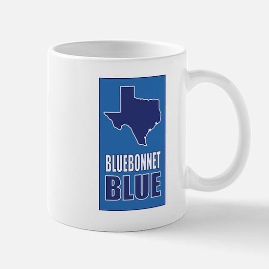 [Texas] Bluebonnet Blue Mugs