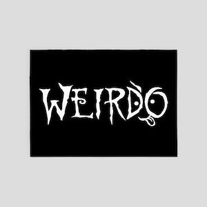 Weirdo 5'x7'Area Rug