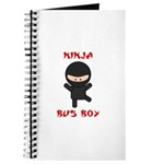 Ninja Bus Boy Journal