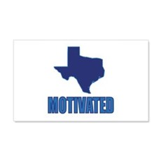 Motivated Texas Democrat Wall Decal