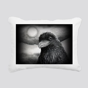 Bird 64 Border Rectangular Canvas Pillow