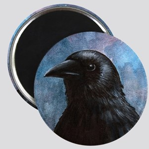 Bird 59 crow raven Magnet